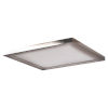 This item: Boxer Brushed Steel 10-Inch LED Flush Mount