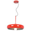 This item: Bistro Red and Silver 16-Inch LED Pendant