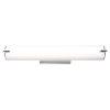 This item: Tube Chrome 25-Inch LED Bath Vanity