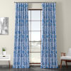 This item: Blue Printed 108 x 50-Inch Polyester Blackout Curtain Single Panel