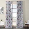 This item: Multicolor Printed 96 x 50-Inch Polyester Blackout Curtain Single Panel