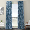 This item: Blue Printed 84 x 50-Inch Polyester Blackout Curtain Single Panel