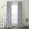 This item: Henna Blue Grommet Blackout Curtain Single Panel