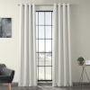 This item: White 84 x 50-Inch Polyester Blackout Curtain Single Panel