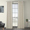This item: Ivory 120 x 50-Inch Polyester Blackout Curtain Single Panel