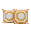 This item: Mecca Gold Printed Cotton Pillow Cover, Set of 2