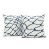 This item: Ellis Blue Printed Cotton Cushion Cover, Set of 2