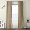 This item: Beige Heritage Plush Velvet Curtain Single Panel