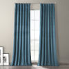 This item: Caspian Blue 96-Inch Plush Velvet Hotel Blackout Curtain Single Panel