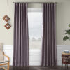 This item: Faux Linen Blackout Purple 50 x 84 In. Curtain Single Panel