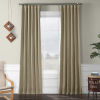 This item: Faux Linen Blackout Beige 50 x 120 In. Curtain Single Panel