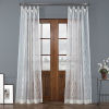 This item: Vega White Polyester 108 In L x 50 In W Single Panel Curtain