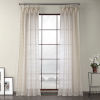 This item: Polaris Beige Polyester 84 In L x 50 In W Single Panel Curtain
