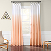 This item: Ombre Faux Linen Semi Sheer Ombre Salmon-SAMPLE SWATCH ONLY