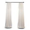 This item: Ivory 120 x 50 In. Curtain Single Panel