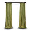This item: Green 120 x 50 In. Faux Silk Taffeta Single Panel Curtain