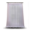 This item: Double Layered White 100 x 96 In. Sheer Curtain