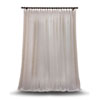 This item: Double Layered Off White 100 x 84 In. Sheer Curtain