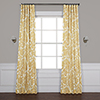 This item: Tea Time Yellow Gold 96 x 50-Inch Blackout Curtain Single Panel