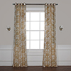 This item: Damacus Tan 120 x 50 In. Grommet Printed Sheer Curtain Single Panel