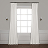 This item: Whisper White Solid Cotton Blackout Curtain - SAMPLE SWATCH ONLY