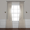 This item: Strasbourg Dot Beige 84 x 50 In. Patterned Linen Sheer Curtain Single Panel