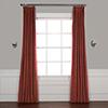 This item: Crimson Rust 108 x 50-Inch Signature Blackout Velvet Curtain Single Panel
