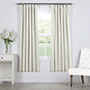 This item: Porcelain White 63 x 50 In. Signature Blackout Velvet Curtain Single Panel