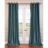 This item: Peacock Green 108 x 50-Inch Vintage Textured Grommet Blackout Curtain Single Panel