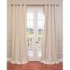This item: Ivory 108 x 50-Inch Vintage Textured Grommet Blackout Curtain Single Panel