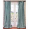 This item: Robins Egg Blue 96 x 50-Inch Blackout Faux Silk Taffeta Curtain Single Panel