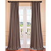 This item: River Rock Grey Cotton Twill Curtain Sample Swatch