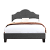 This item: Whittier Full Charcoal Gray Full Upholstered Bed