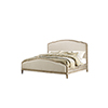 This item: Grace King Sandstone Gray Curved King Bed
