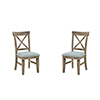 This item: Grace Reclaimed Pine Dining Chair, Set 0F 2