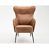 This item: Fulton Badlands Saddle Accent Chair