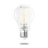 This item: Clear Smart LED A19 60 Watt Equivalent Standard Base Tunable Color Temperature 800 Lumens Smart Home Light Bulb