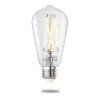 This item: Clear Smart LED ST18 60 Watt Equivalent Standard Base Tunable Color Temperature 800 Lumens Smart Home Light Bulb