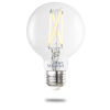 This item: Clear Smart LED G25 60 Watt Equivalent Standard Base Tunable Color Temperature 800 Lumens Smart Home Light Bulb
