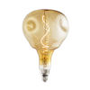 This item: Antique Nostalgic LED Filament Orb Standard Base Amber 200 Lumens Light Bulb