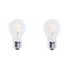 This item: Clear LED Filament A19 40 Watt Equivalent Standard Base Warm White 450 Lumens Light Bulb