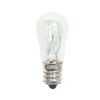 This item: Clear Incandescent S6 Candelabra Base Warm White 10 Lumens Light Bulb