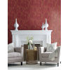 This item: Ronald Redding Tea Garden Red, Black and Gold Willow Branches Wallpaper
