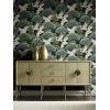This item: Ronald Redding Tea Garden Black Sprig and Heron Wallpaper