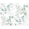 This item: Impressionist Blue and Green Arbor Vine Wallpaper
