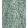This item: Impressionist Green Liquid Marble Wallpaper - SAMPLE SWATCH ONLY