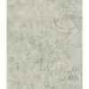 This item: Impressionist Gray Entablature Scroll Wallpaper