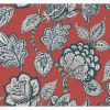 This item: Conservatory Red and Blue Midsummer Jacobean Wallpaper