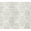 This item: Conservatory Light Gray Congas Stripe Wallpaper