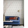 This item: Ronald Redding Handcrafted Naturals Lily White and Cream Ottoman Fans Wallpaper